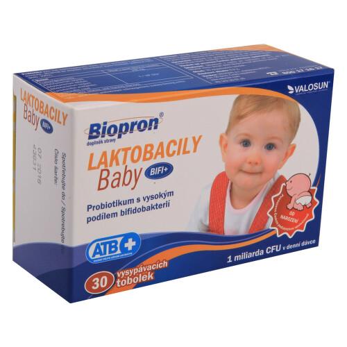 Biopron LAKTOBACILY Baby BiFi+ tob.30