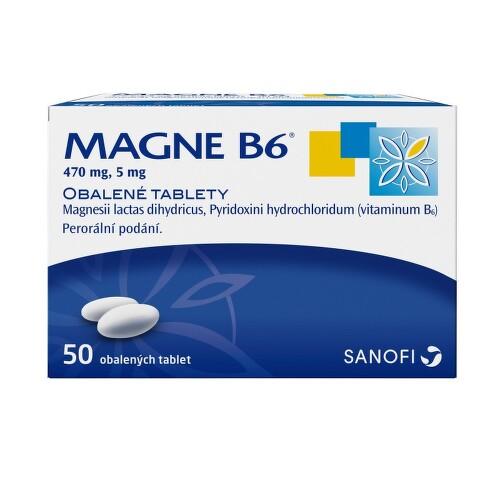 MAGNE B6 perorální obalené tablety 50