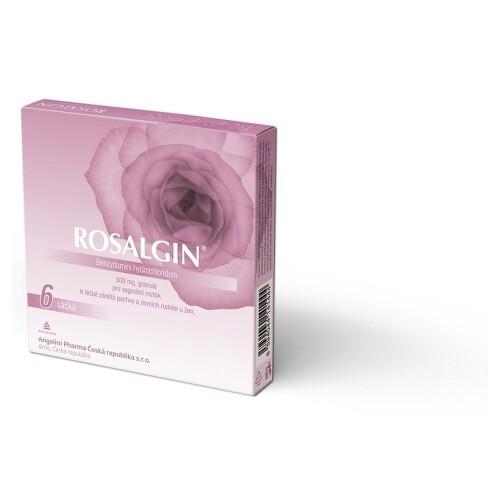 ROSALGIN vaginální zrněné prášky pro přípravu roztoku 6X0.5GM