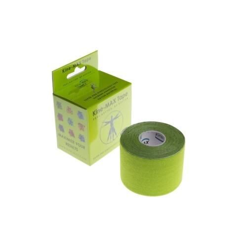 KineMAX SuperPro Ray. kinesiology tape zele.5cmx5m