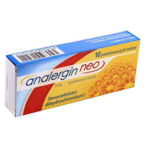 ANALERGIN NEO 5 MG perorální potahované tablety 10X5MG