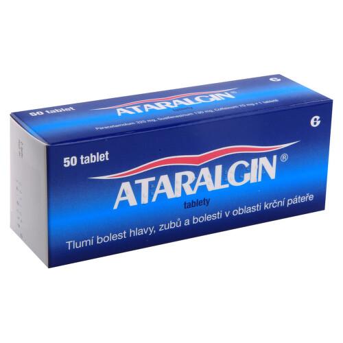 ATARALGIN perorální neobalené tablety 50