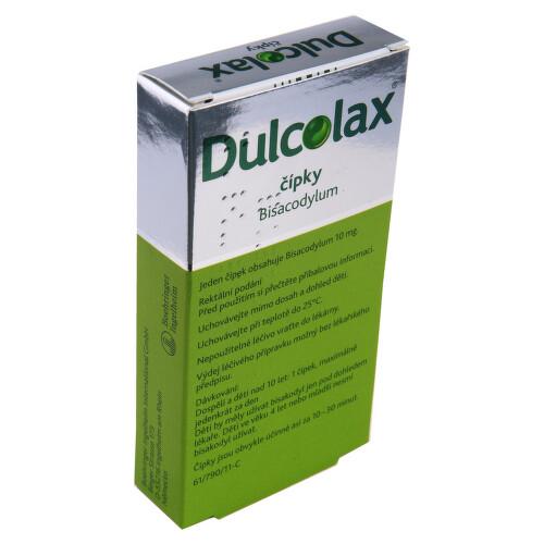 DULCOLAX ČÍPKY rektální čípek 6X10MG