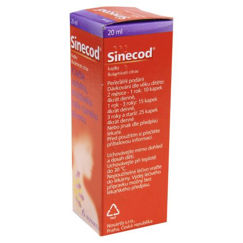 SINECOD perorální kapky, roztok 1X20ML