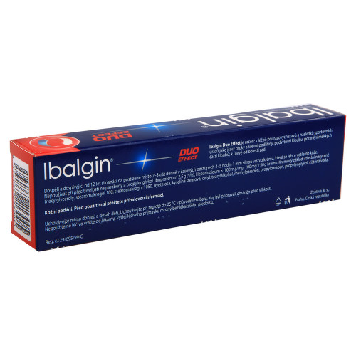 IBALGIN DUO EFFECT kožní podání krém 1X100GM