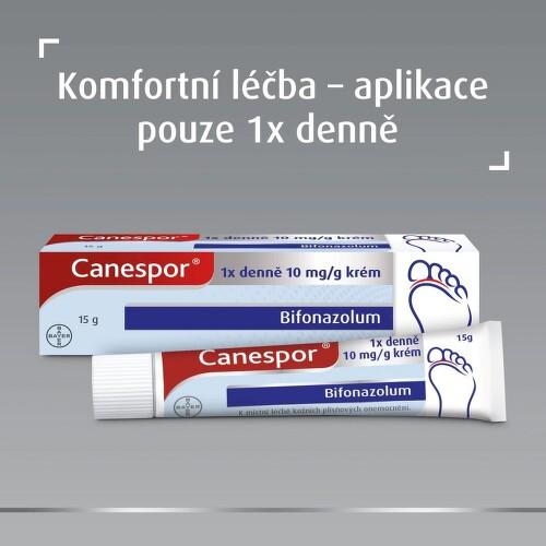 CANESPOR 1X DENNĚ KRÉM kožní podání krém 1X15GM 1%