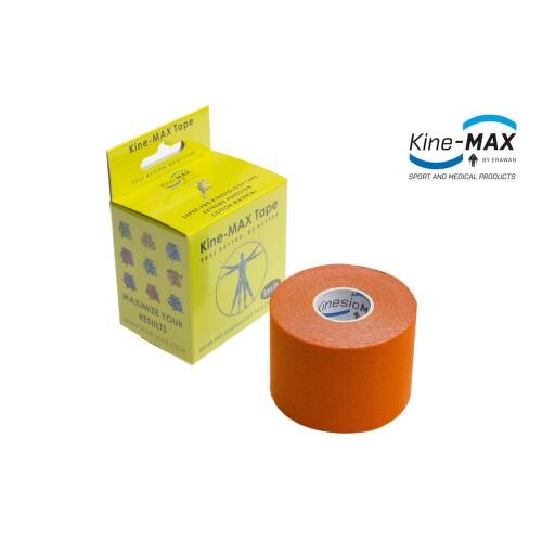 KineMAX SuperPro Cot. kinesiology tape oran.5cmx5m