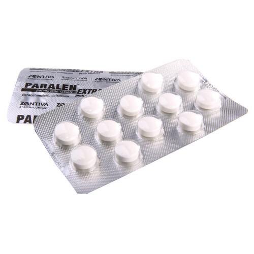 PARALEN EXTRA PROTI BOLESTI perorální potahované tablety 24