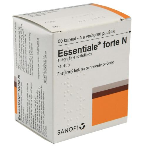 ESSENTIALE FORTE N perorální tvrdé tobolky 50