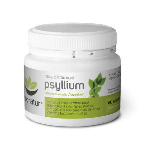 Psyllium kapsle 100 ks Topnatur
