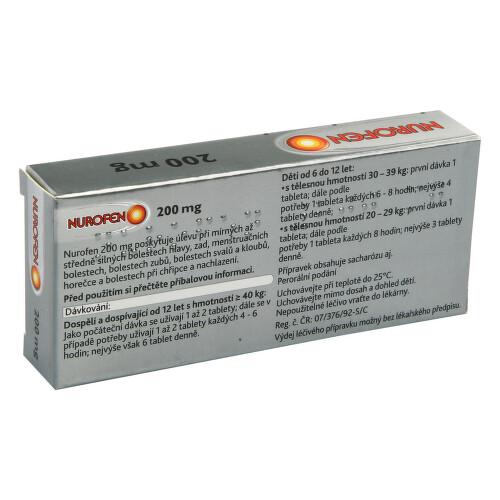 NUROFEN 200 MG perorální obalené tablety 24X200MG