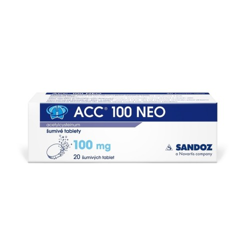 ACC 100 NEO perorální šumivá tableta 20X100MG