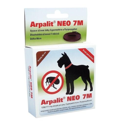 ARPALIT Neo 7M antiparazit. obojek PSI 66cm hnědý