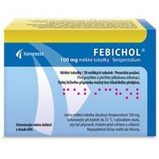 FEBICHOL 100MG měkké tobolky 50