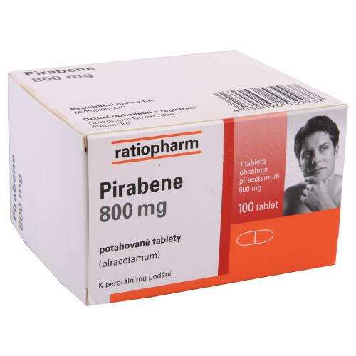 PIRABENE 800 MG perorální potahované tablety 100X800MG