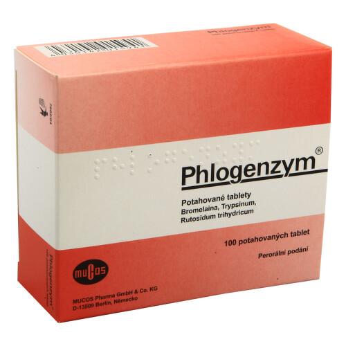 PHLOGENZYM perorální potahované tablety 100