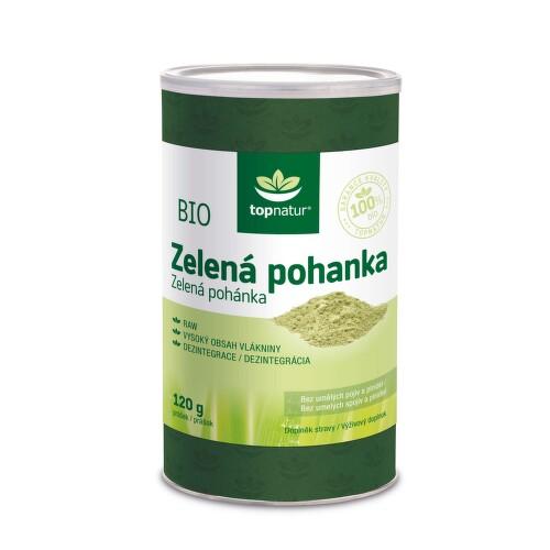 BIO Zelená pohanka 120 g TOPNATUR