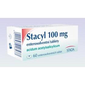 STACYL 100 MG ENTEROSOLVENTNÍ TABLETY perorální enterosolventní tableta 60X100MG I