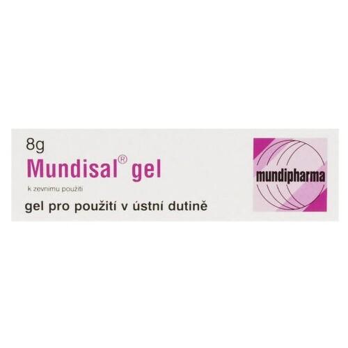 MUNDISAL 87,1MG/G orální podání GEL 1X8G