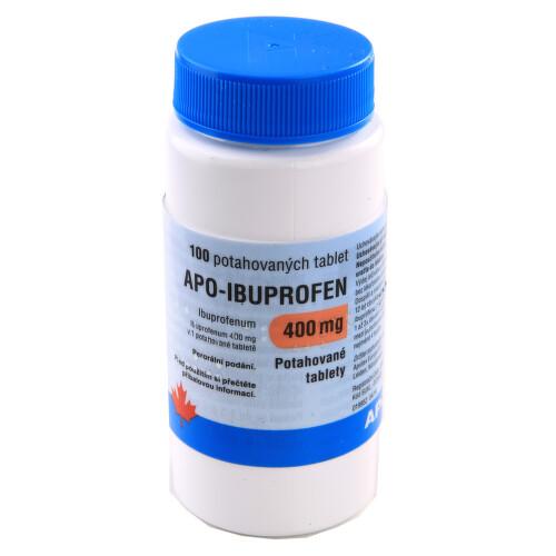 APO-IBUPROFEN 400 MG perorální potahované tablety 100X400MG