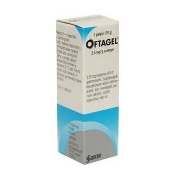 OFTAGEL 2,5MG/G oční podání GEL 10G