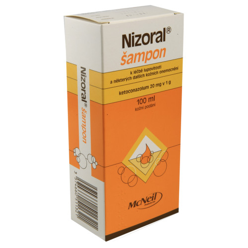 NIZORAL kožní podání šampon 100ML 2%