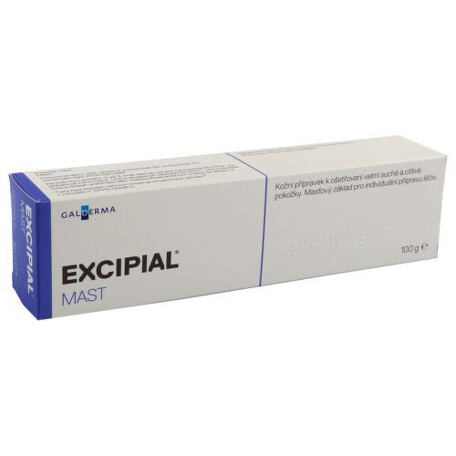 EXCIPIAL MAST kožní podání mast 1X100GM