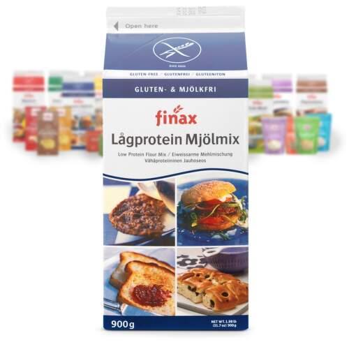 FINAX-bezlep.směs nízkobílkoviná bez mléka 900g
