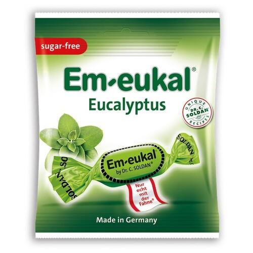 Em-Eukal Eukalyptovo-mentol.dropsy bez cukru 50g