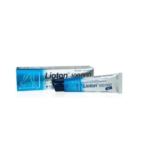 LIOTON 100 000 GEL kožní podání gely 1X30GM