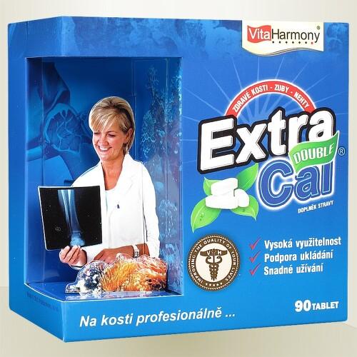 VitaHarmony ExtraCal Double zdraví kostí tbl.90