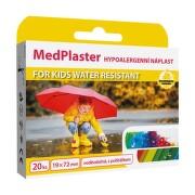 MedPlaster Náplast KIDS water resist.19x72mm 20ks