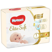 HUGGIES Elite Soft 1 3-5kg 26ks