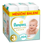 Pampers Plenky Premium Monthly Box S3 204