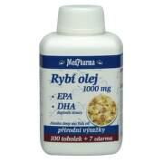 MedPharma Rybí olej 1000mg+EPA+DHA tob.107