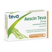 AESCIN TEVA 20MG enterosolventní tableta 90