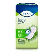 TENA Lady Slim Mini Plus - Inkontinenční vložky (16ks)