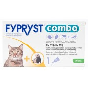 FYPRYST combo 1x0.5ml spot-on pro kočky a fretky