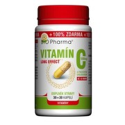Vitamín C 500mg long effect cps.30+30 BIO-Pharma