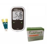 Glukometr AKCE SD-Codefree PLUS +50 proužků navíc
