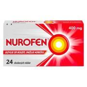NUROFEN 400MG obalené tablety 24 I