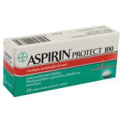 ASPIRIN PROTECT 100 100MG enterosolventní tableta 28