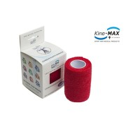KineMAX Cohesive elast.samofix.7.5cmx4.5m červ.