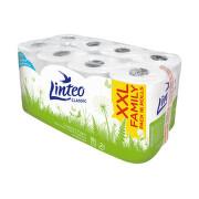 Toaletní papír LINTEO CLASSIC 2-vrstvý bílý 16rolí