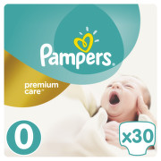 Pampers Premium Care Pack S0 Newborn 30ks