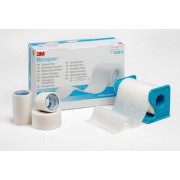 3M Micropore papír.náplast bílá 2.5cmx9.15m 12ks