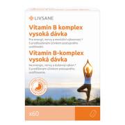 LIVSANE Vitamin B Komplex vysoká dávka 60 ks
