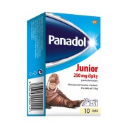 Panadol Junior 250mg čípky 10ks