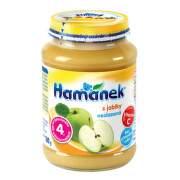 Hamánek kojenecká výživa s jablky neslazeno 180g