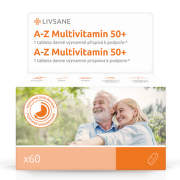 LIVSANE A-Z Multivitamin komplex 50+ tablety 60ks